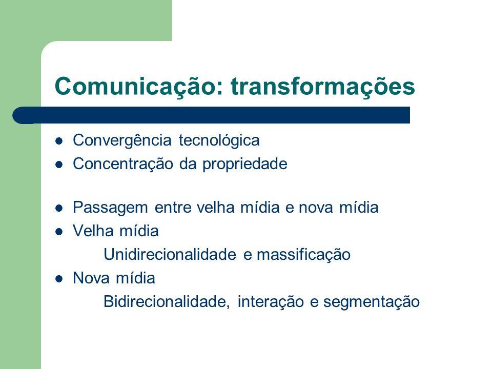 Comunicação: transformações