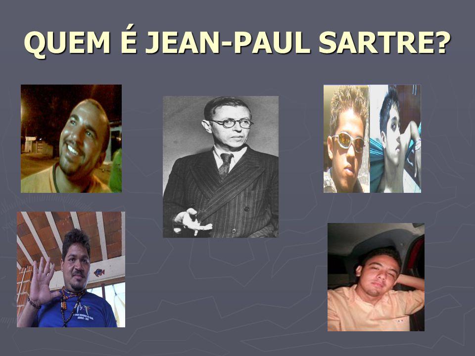 QUEM É JEAN-PAUL SARTRE