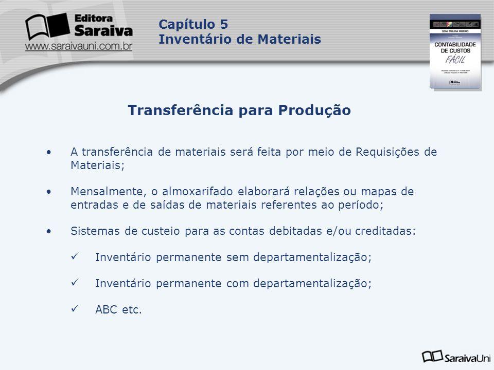 Transferência para Produção