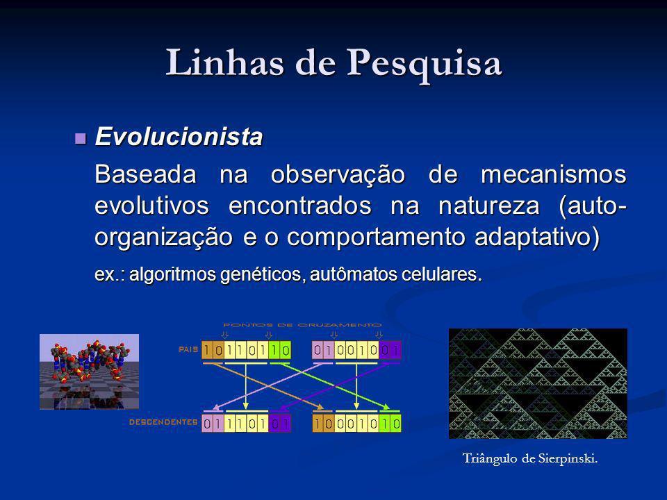 Linhas de Pesquisa Evolucionista