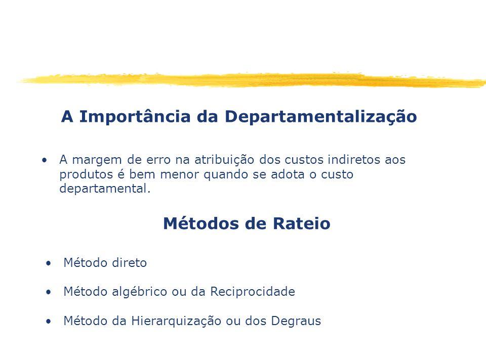A Importância da Departamentalização