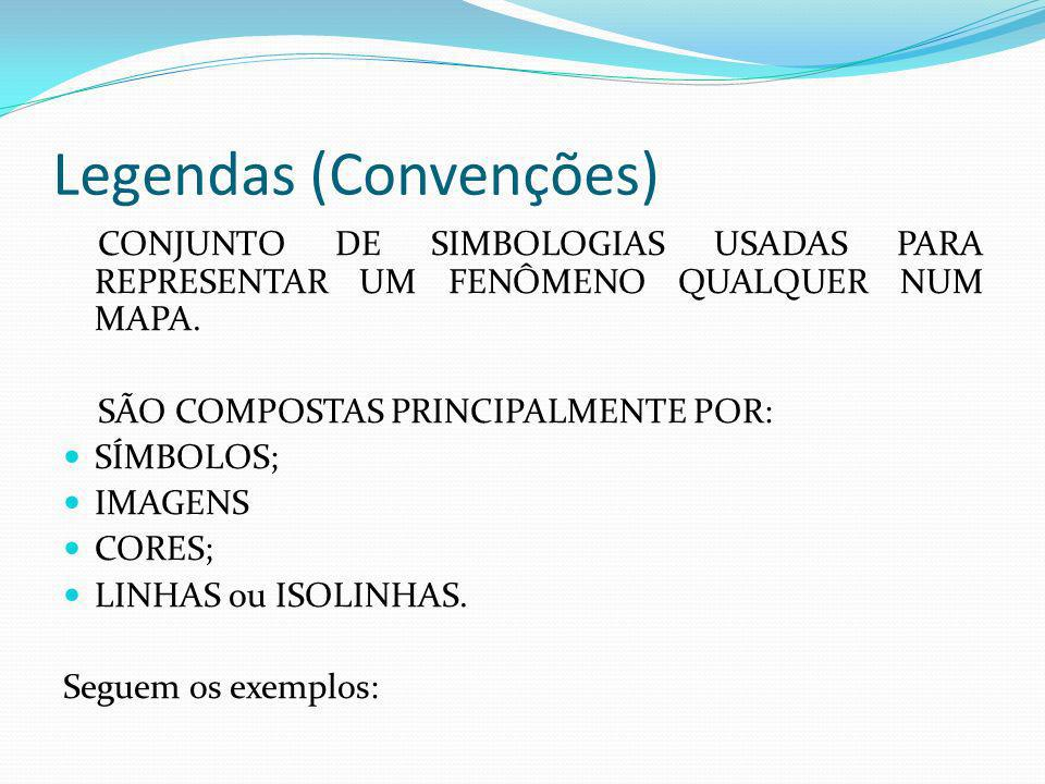 Legendas (Convenções)