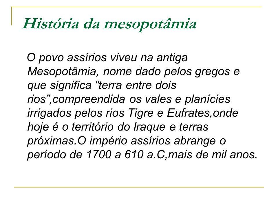 História da mesopotâmia