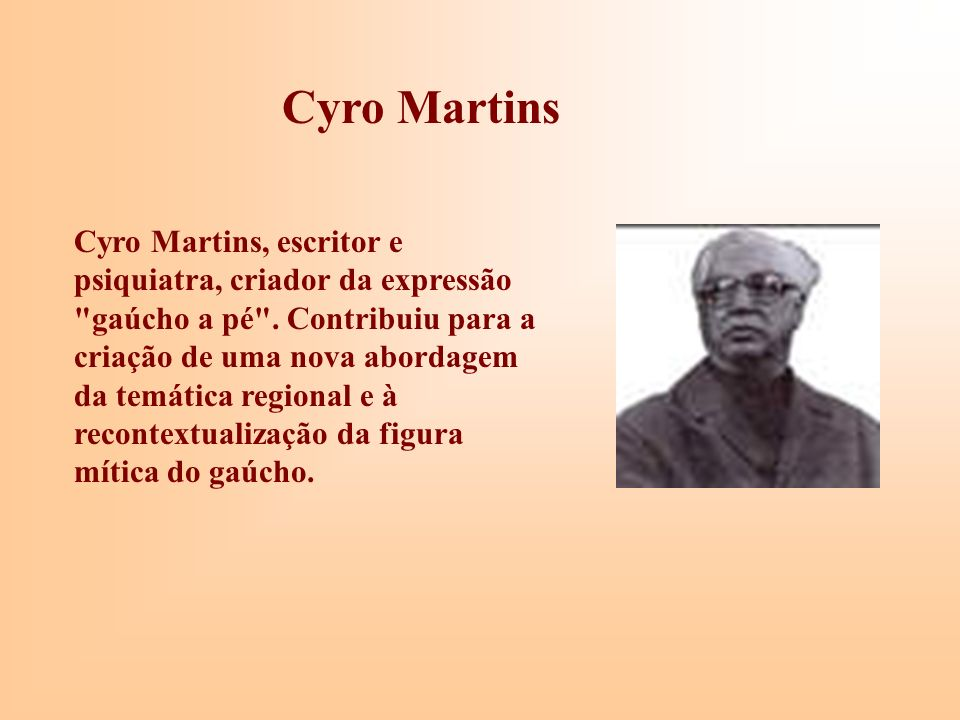 Cyro Martins