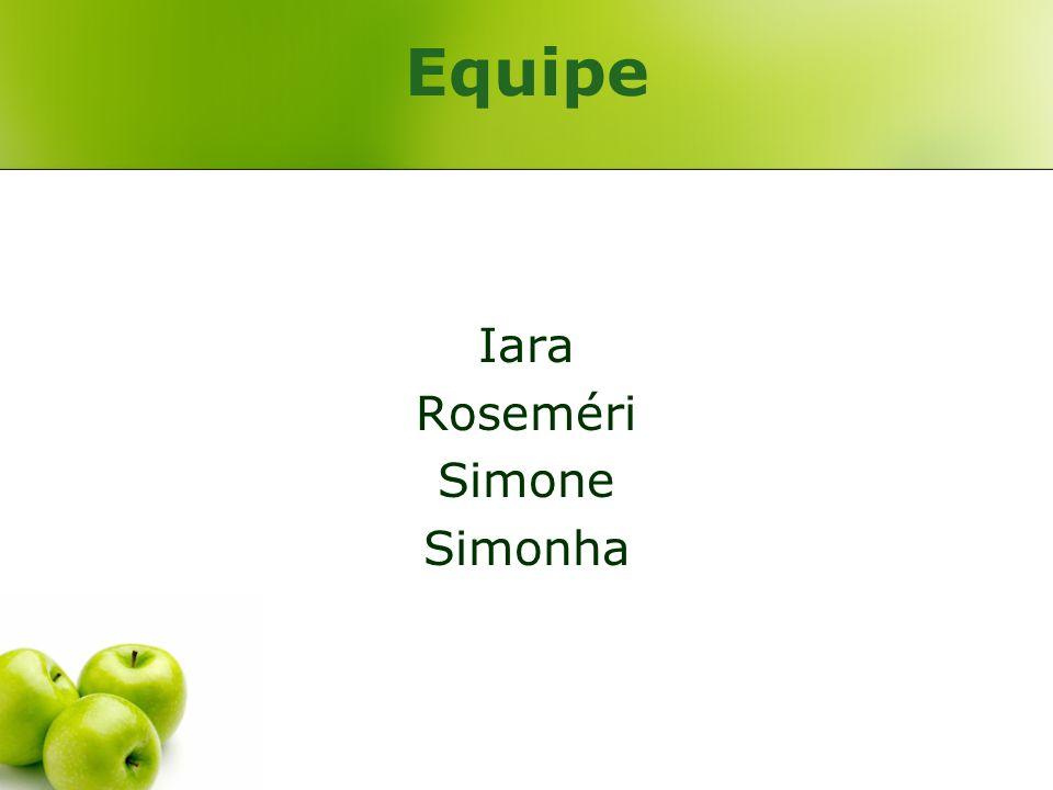 Equipe Iara Roseméri Simone Simonha