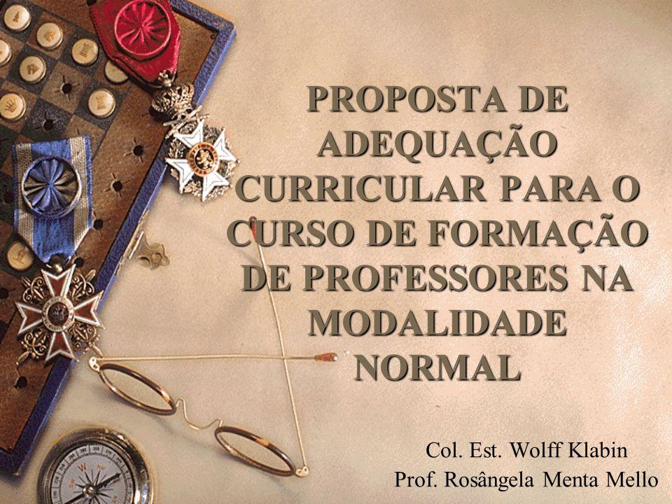 Col. Est. Wolff Klabin Prof. Rosângela Menta Mello