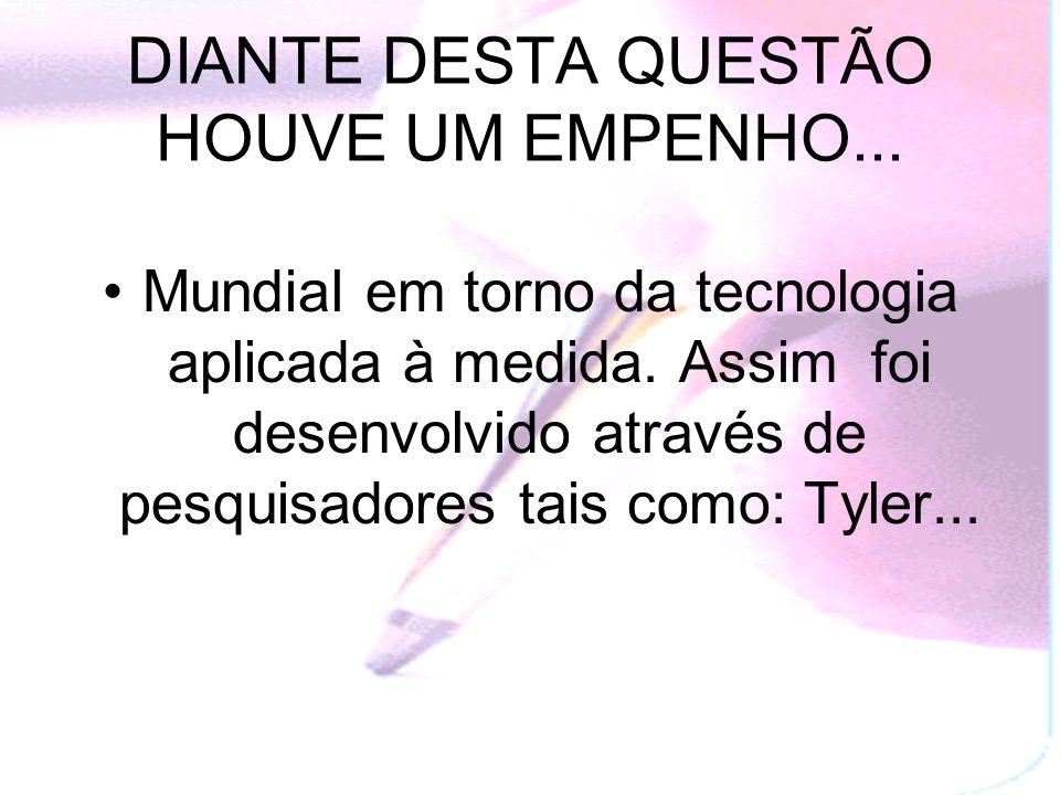 DIANTE DESTA QUESTÃO HOUVE UM EMPENHO...
