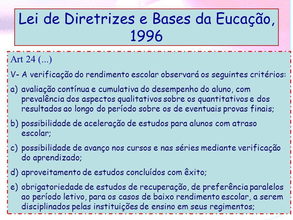 Lei de Diretrizes e Bases da Eucação, 1996