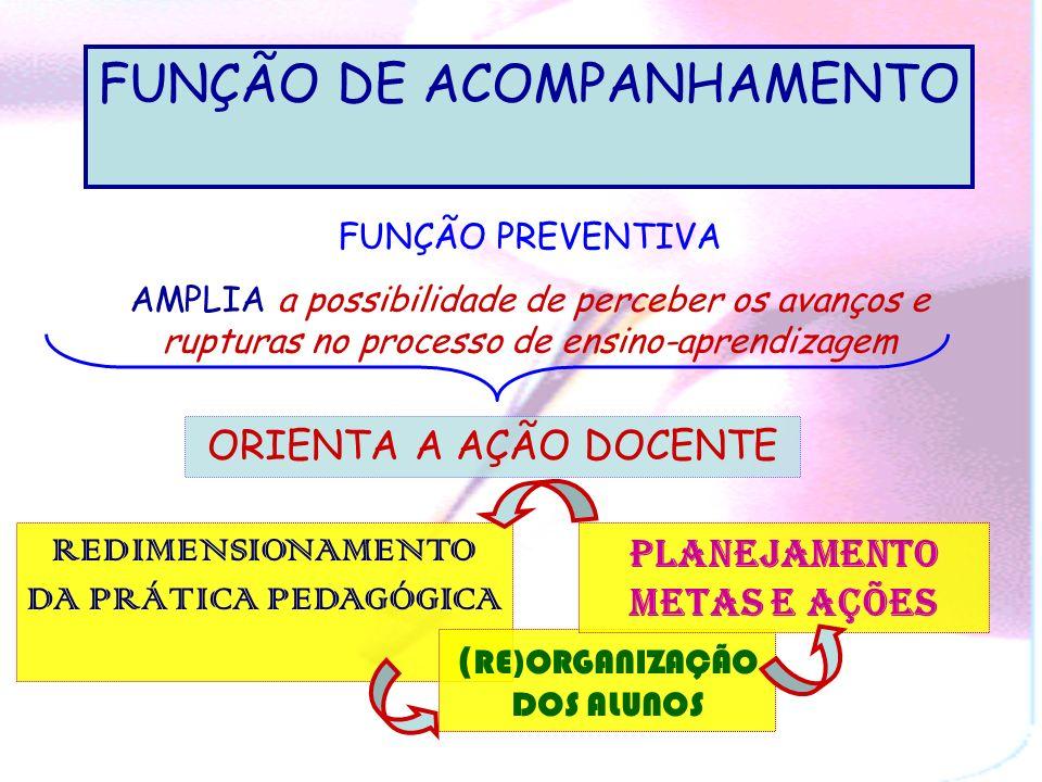 FUNÇÃO DE ACOMPANHAMENTO