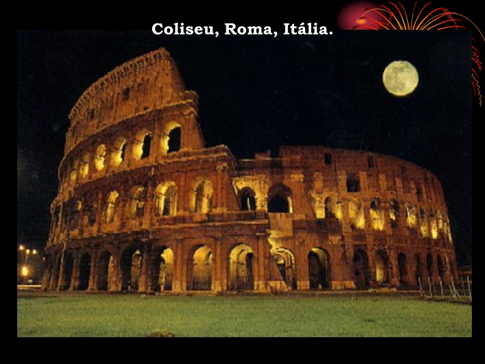 Coliseu, Roma, Itália.
