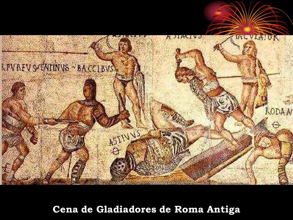Cena de Gladiadores de Roma Antiga