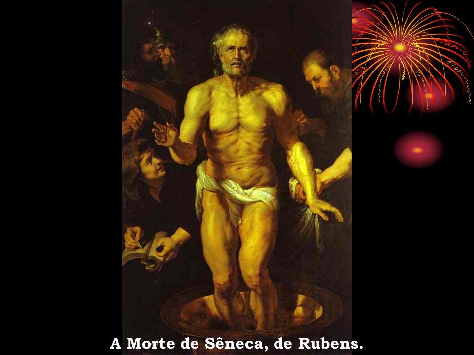 A Morte de Sêneca, de Rubens.