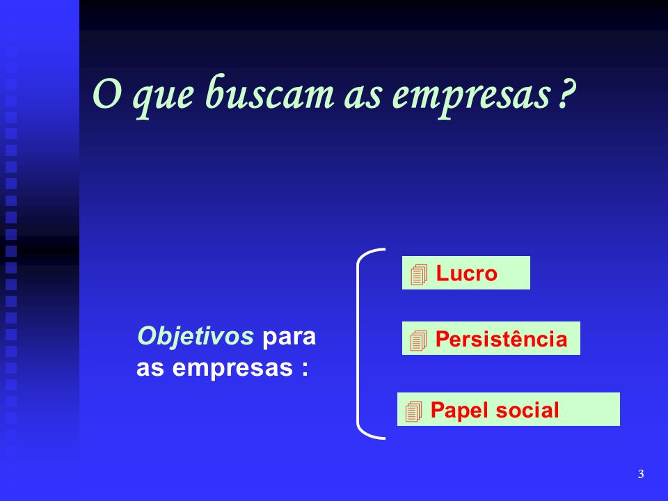 O que buscam as empresas