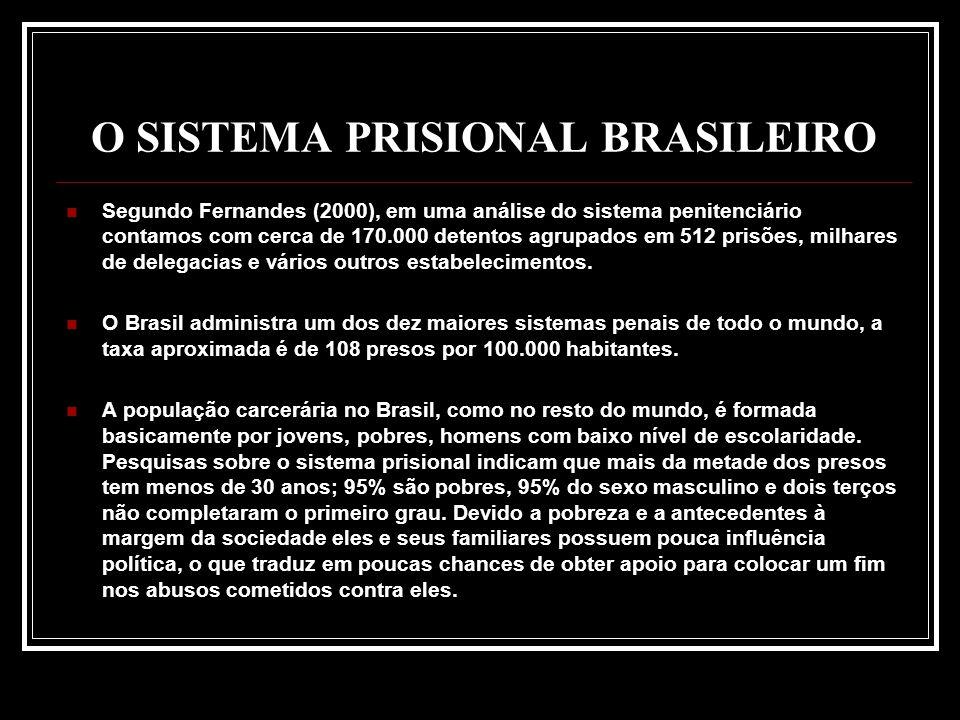 O SISTEMA PRISIONAL BRASILEIRO