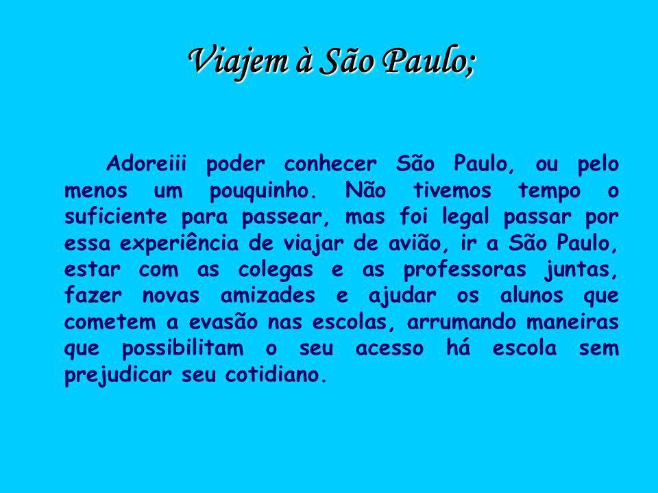 Viajem à São Paulo;