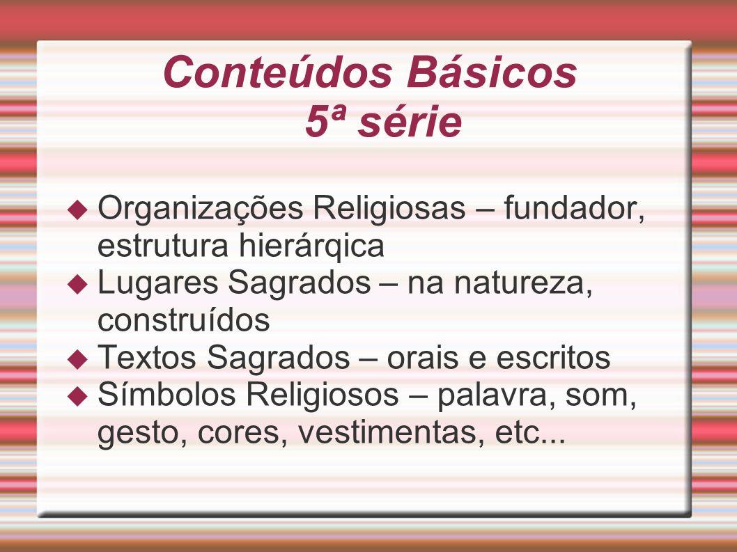 Conteúdos Básicos 5ª série