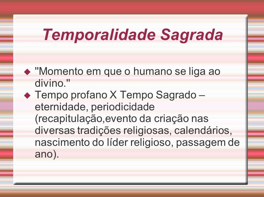 Temporalidade Sagrada