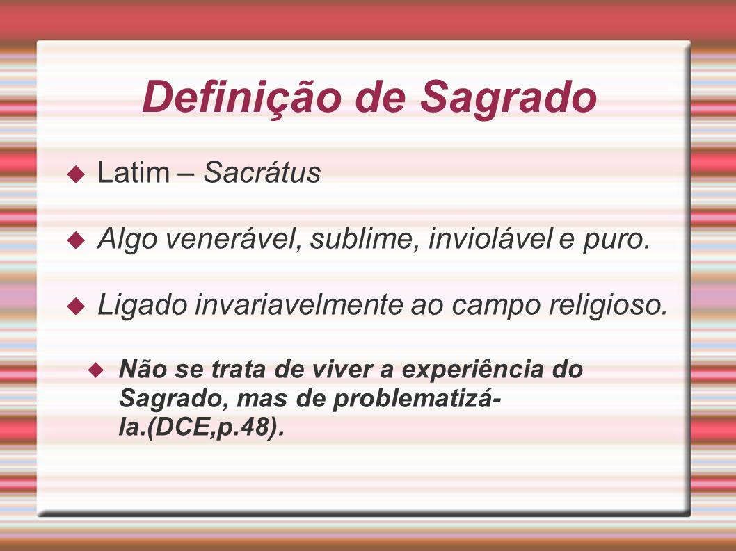 Definição de Sagrado Latim – Sacrátus