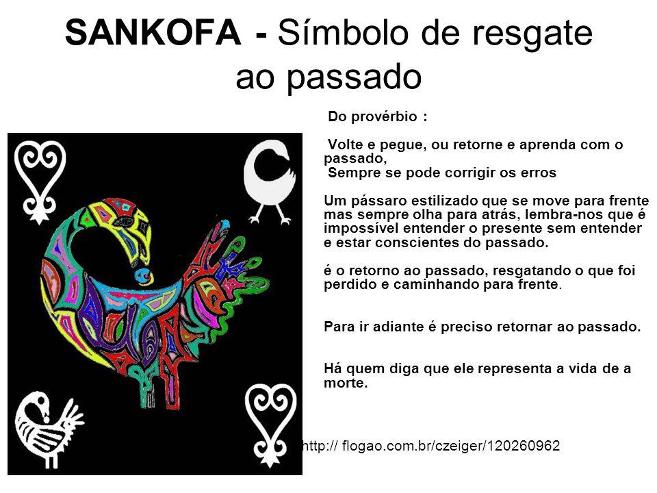SANKOFA - Símbolo de resgate ao passado
