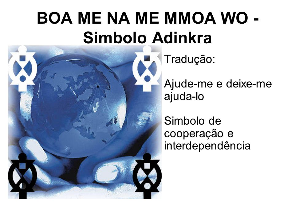 BOA ME NA ME MMOA WO - Simbolo Adinkra