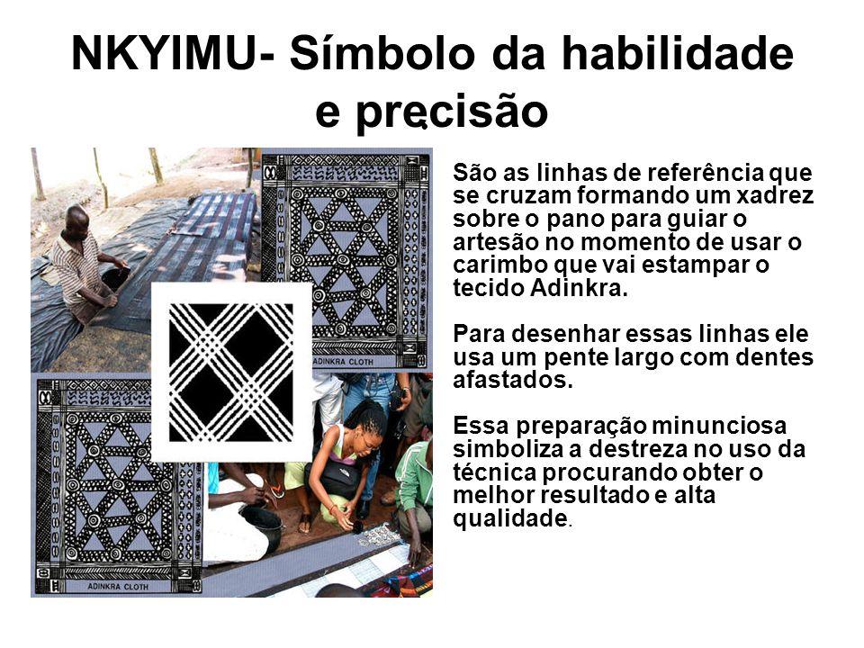 NKYIMU- Símbolo da habilidade e precisão