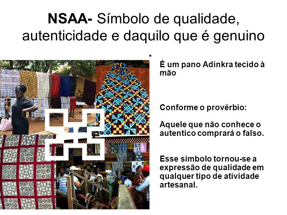 NSAA- Símbolo de qualidade, autenticidade e daquilo que é genuino
