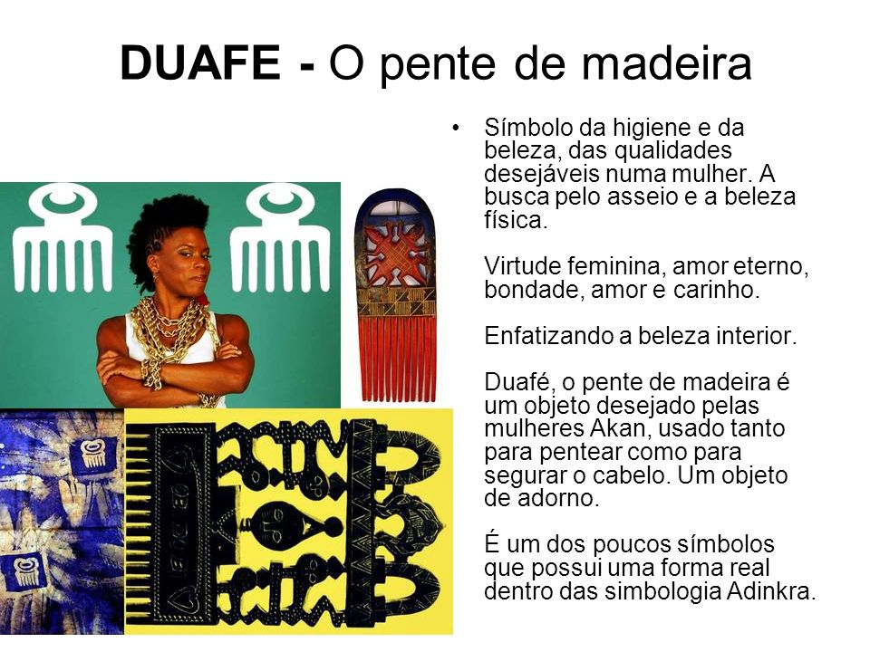 DUAFE - O pente de madeira