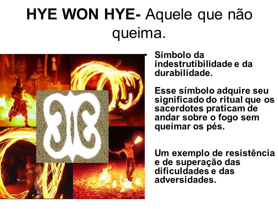 HYE WON HYE- Aquele que não queima.