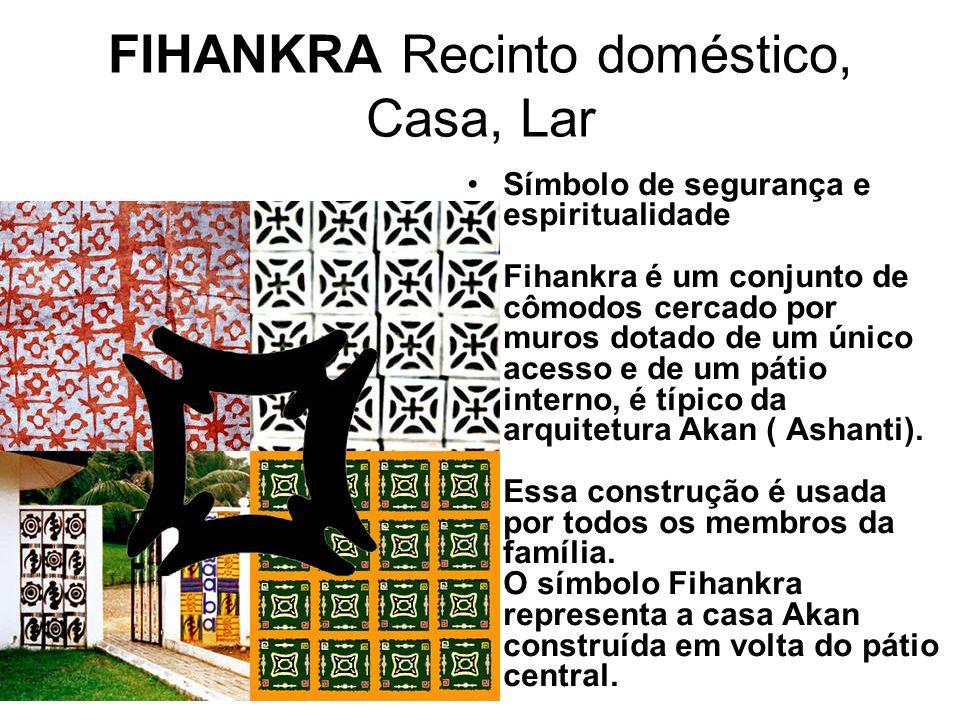 FIHANKRA Recinto doméstico, Casa, Lar