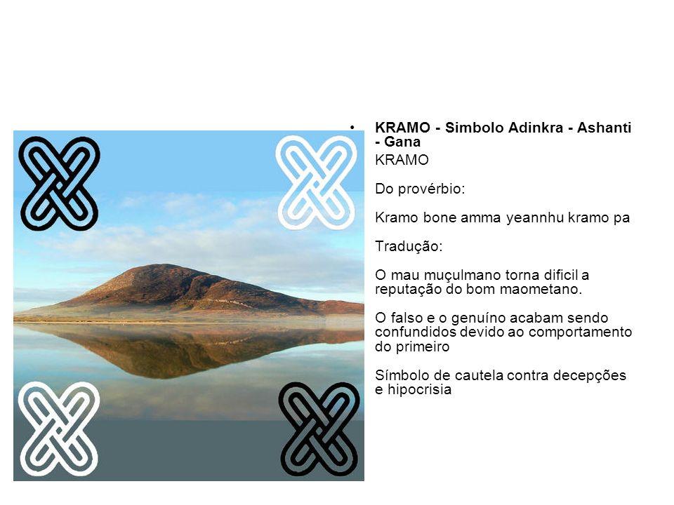 KRAMO - Simbolo Adinkra - Ashanti - Gana