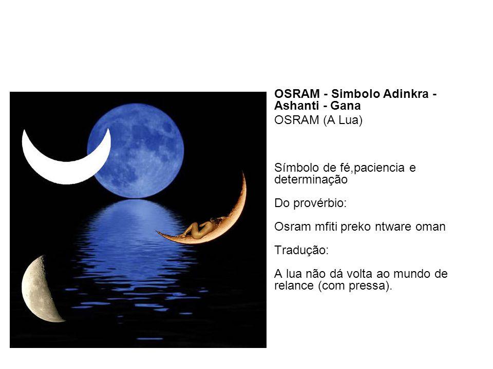 OSRAM - Simbolo Adinkra - Ashanti - Gana