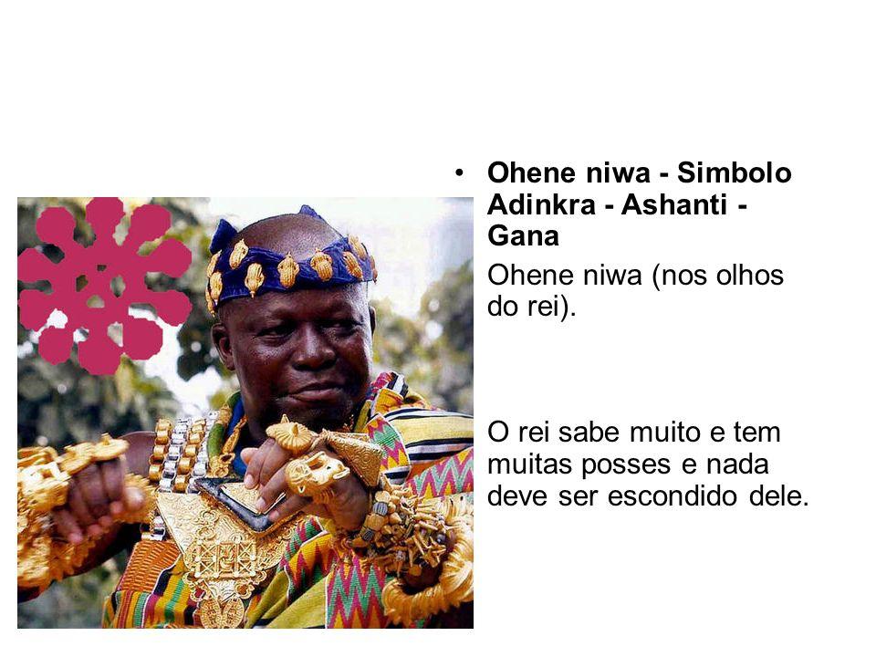 Ohene niwa - Simbolo Adinkra - Ashanti - Gana