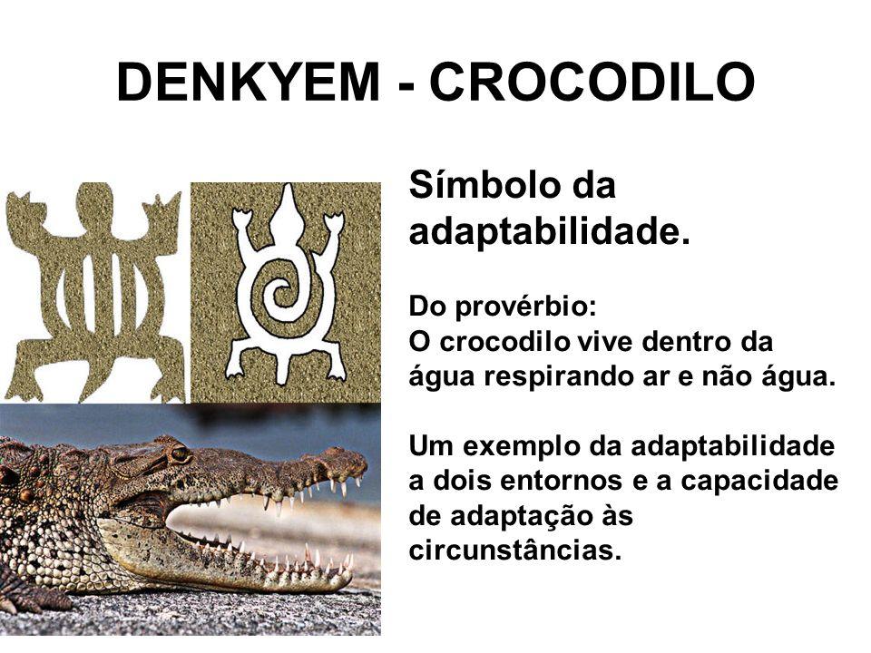 DENKYEM - CROCODILO