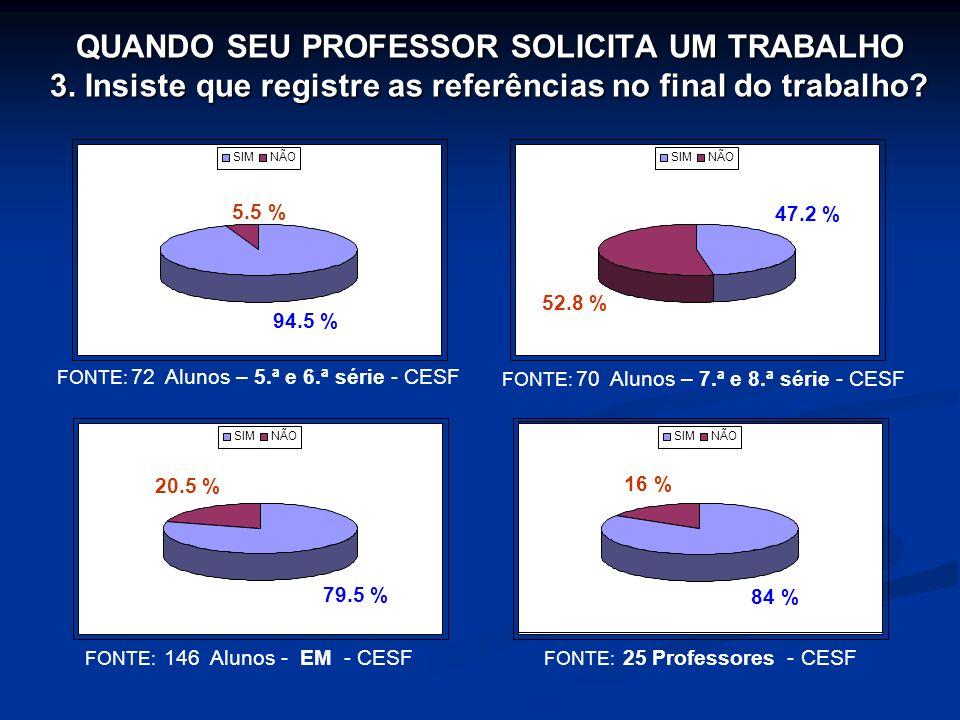 QUANDO SEU PROFESSOR SOLICITA UM TRABALHO 3
