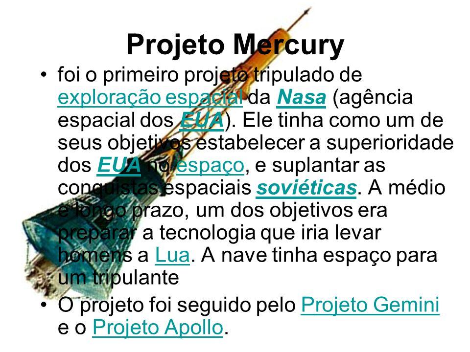 Projeto Mercury