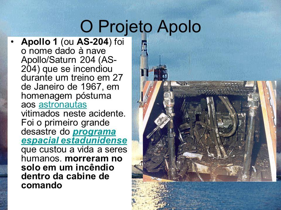 O Projeto Apolo