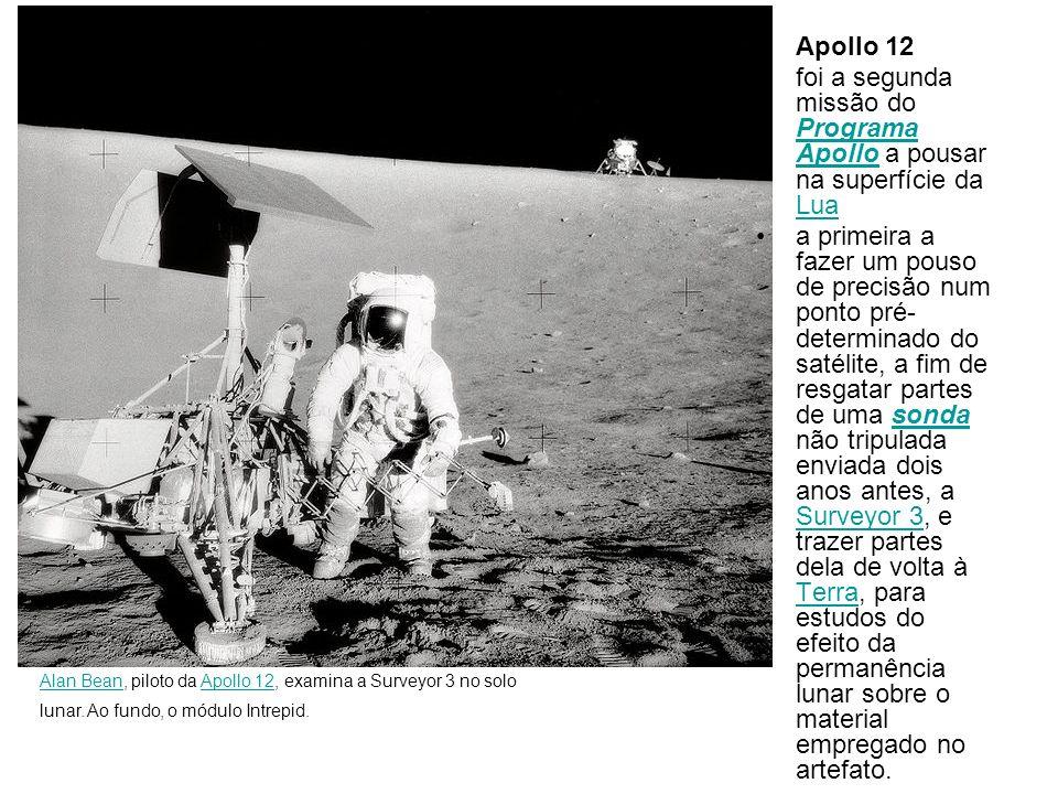 foi a segunda missão do Programa Apollo a pousar na superfície da Lua