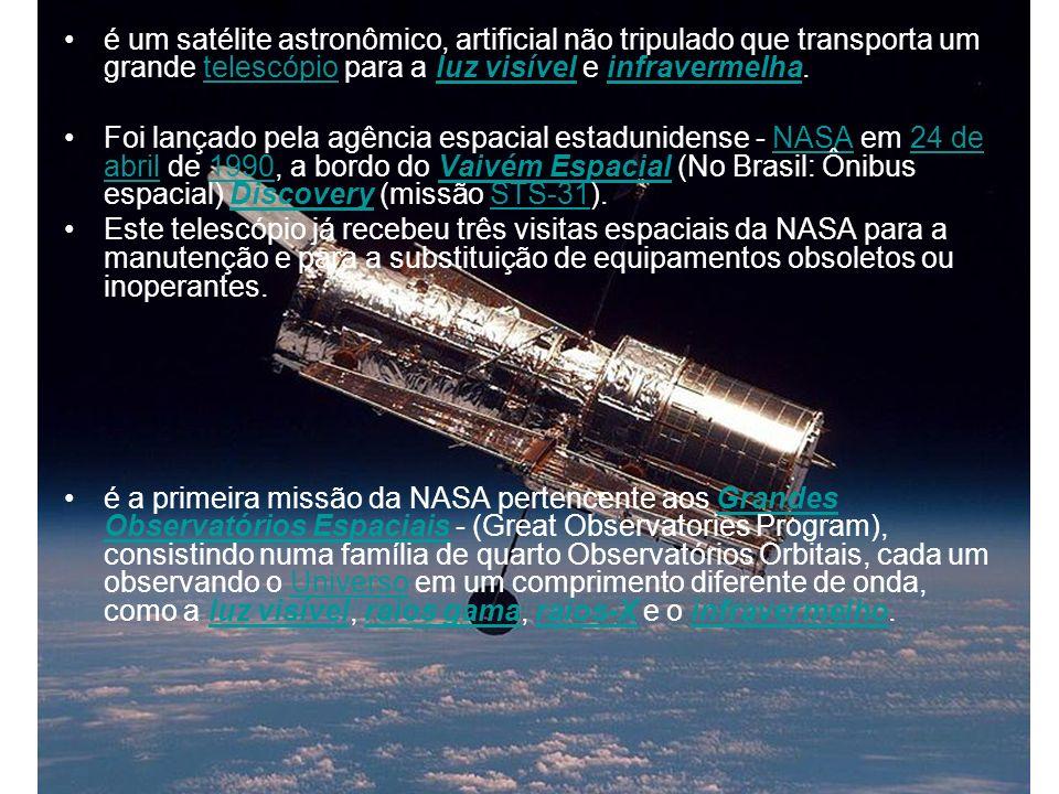 é um satélite astronômico, artificial não tripulado que transporta um grande telescópio para a luz visível e infravermelha.