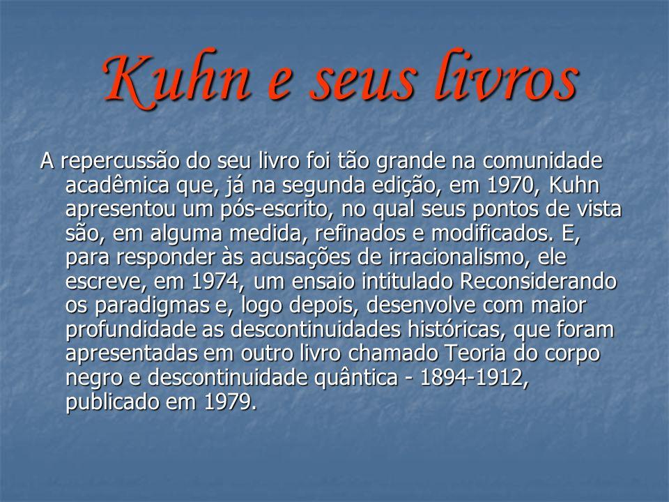 Kuhn e seus livros