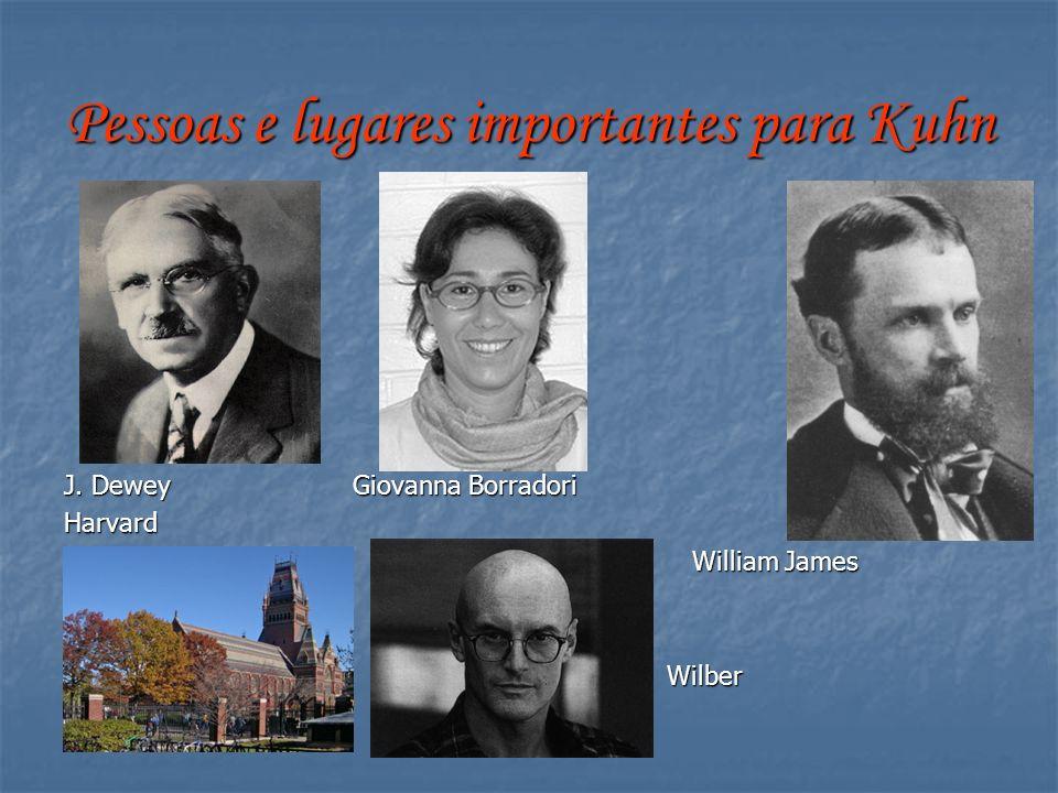 Pessoas e lugares importantes para Kuhn