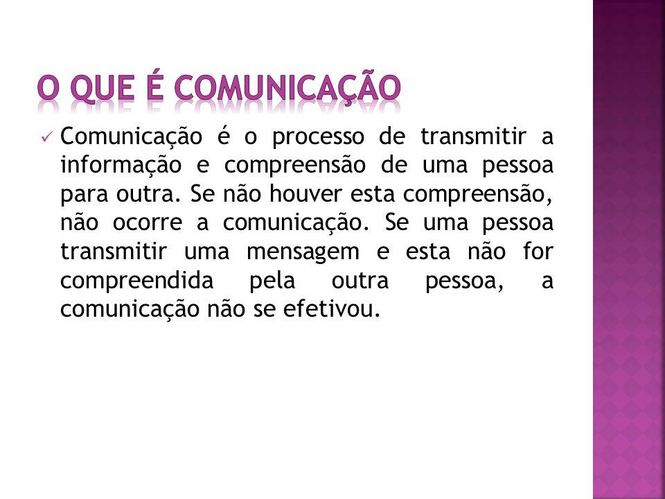 O que é comunicação
