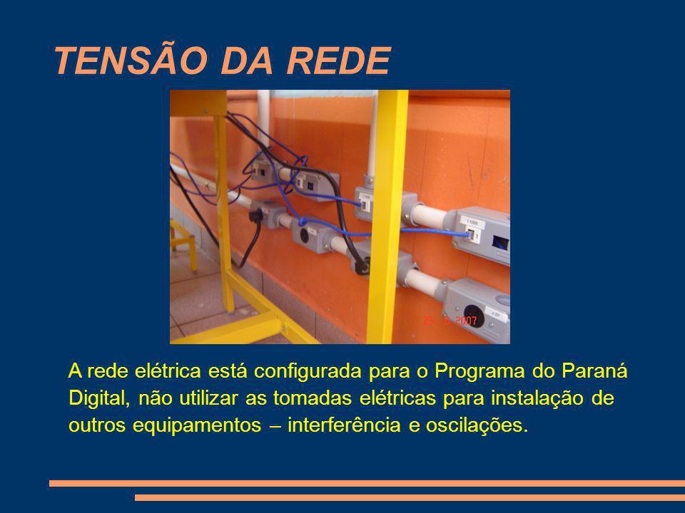 TENSÃO DA REDE