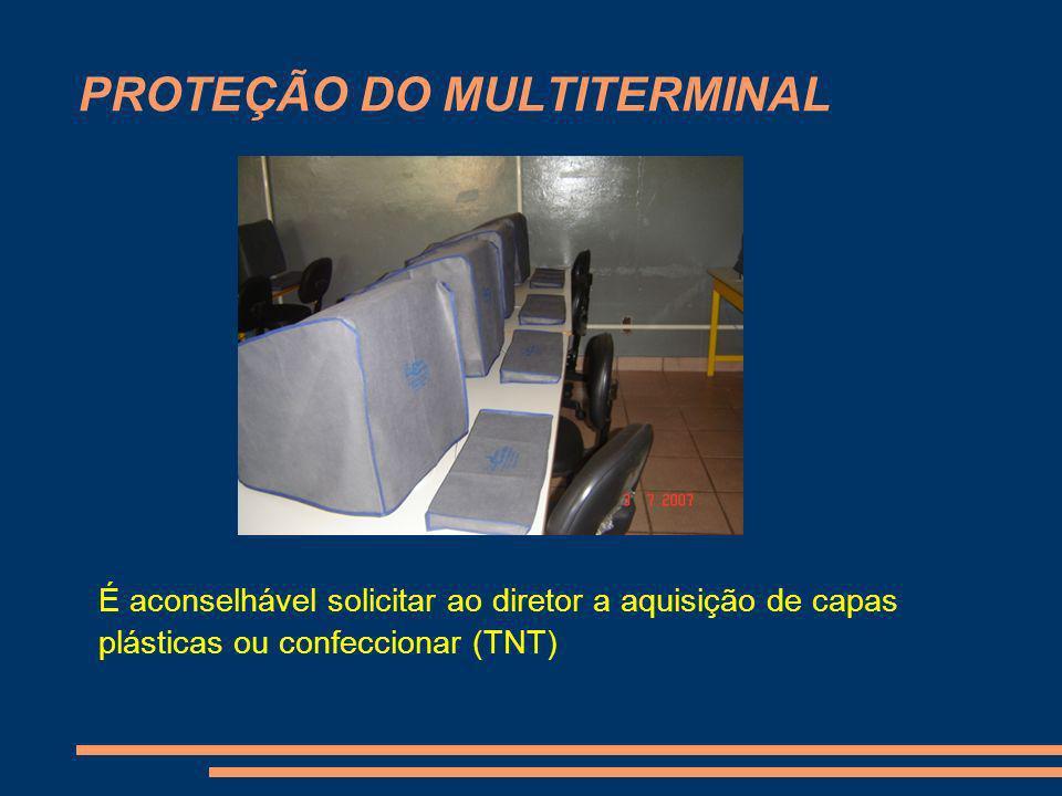 PROTEÇÃO DO MULTITERMINAL