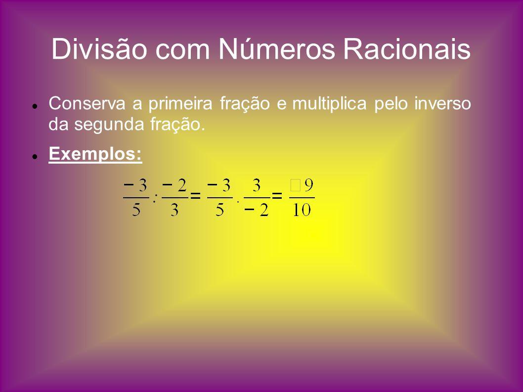 Divisão com Números Racionais