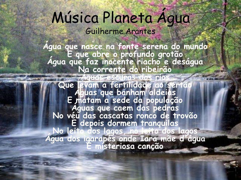 Música Planeta Água Guilherme Arantes
