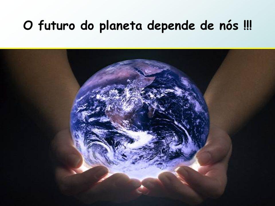 O futuro do planeta depende de nós !!!