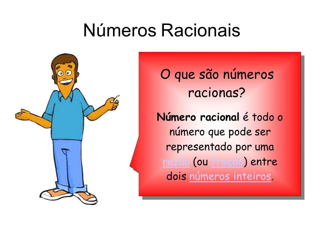 O que são números racionas