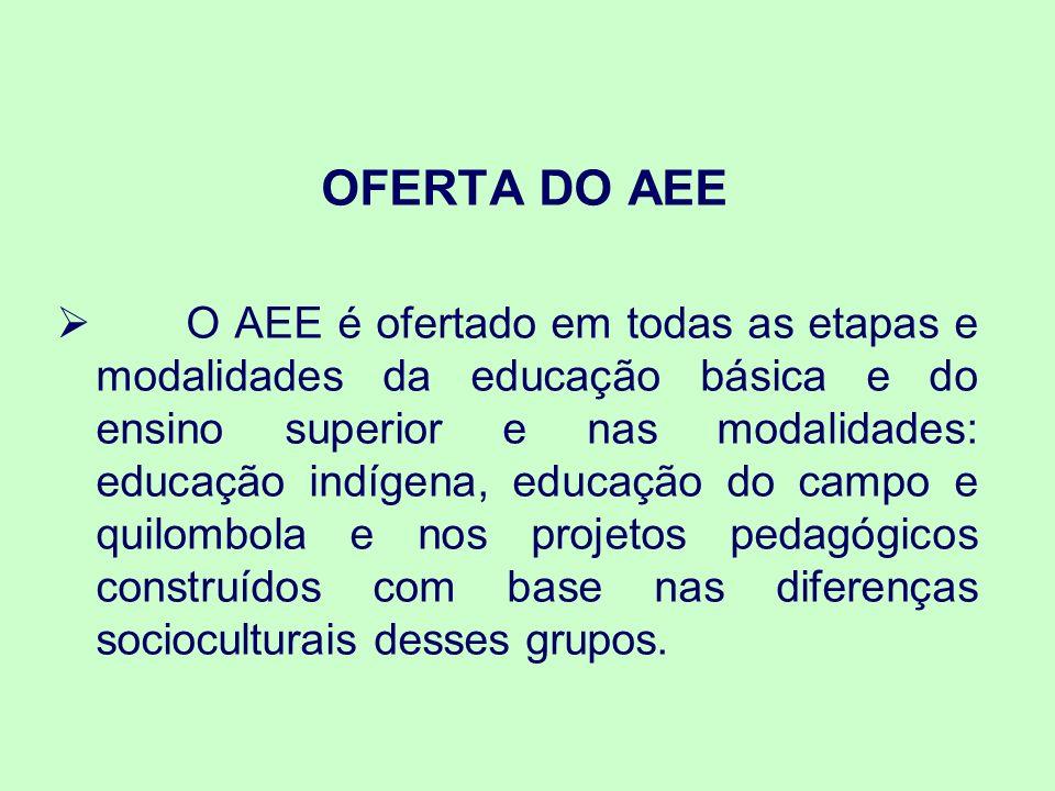 OFERTA DO AEE