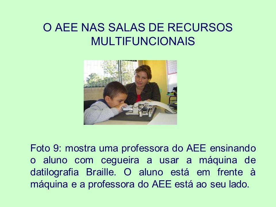 O AEE NAS SALAS DE RECURSOS MULTIFUNCIONAIS