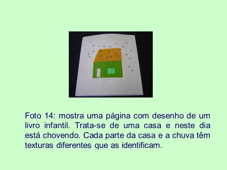 Foto 14: mostra uma página com desenho de um livro infantil